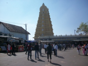 Chimundaswari Temple, Mysore India